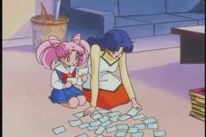 Chibiusa and Usagi mom