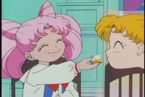Chibiusa and Usagi