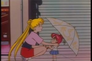 Chibiusa and Usagi