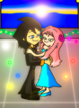 Chiro and Jinmay Dancing in Sunset..  dream. - super-robot-monkey-team-hyper-force-go photo