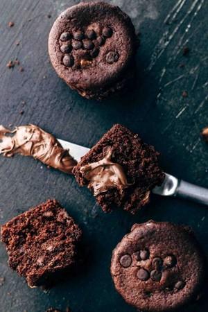 チョコレート Muffins