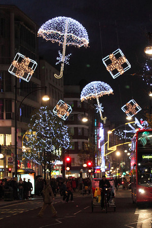 क्रिस्मस Around The Uk...London England 🎄