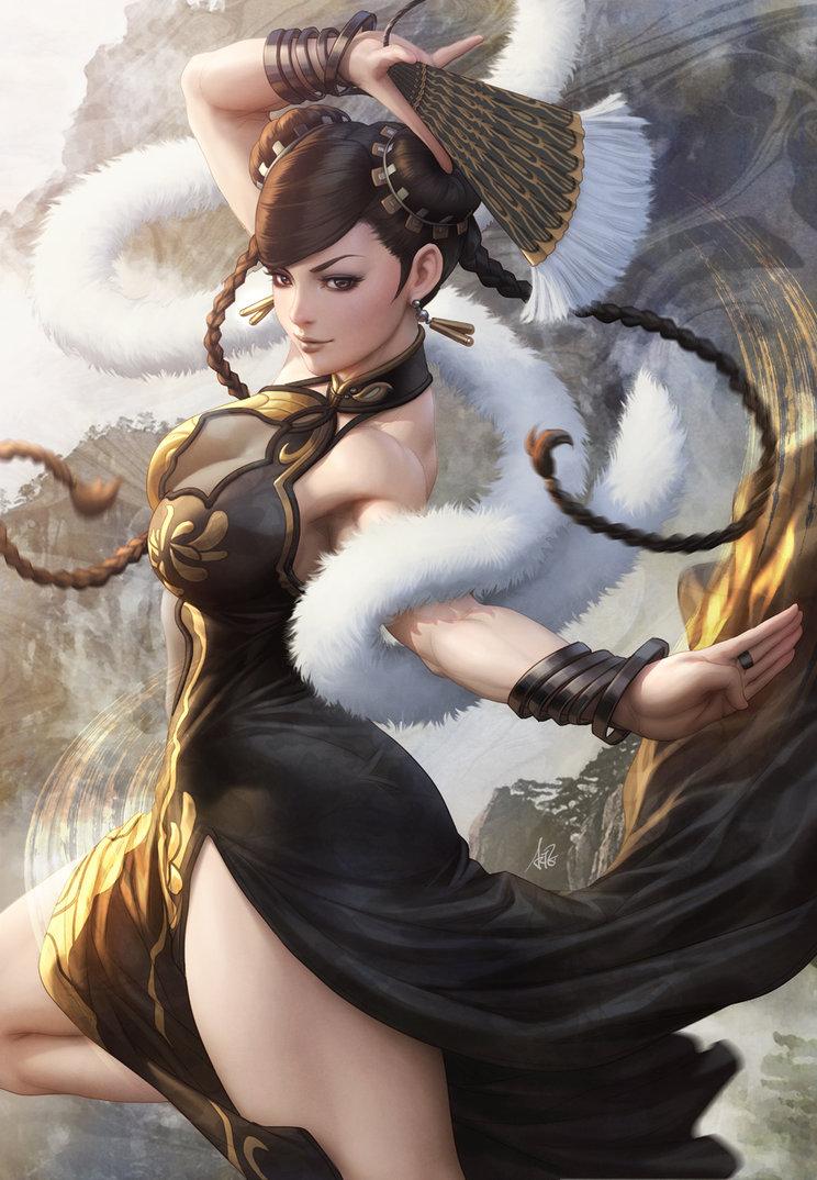 Chun Li Thelefteris24 Fan Art 40900701 Fanpop