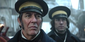Ciaran Hinds and Tobias Menzies in AMCs The TerrorPRAVI