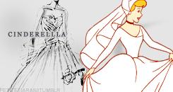 Cendrillon Wedding Dress design