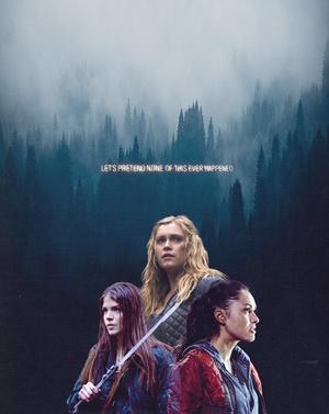 Clarke, Octavia and Raven