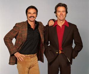Clint Eastwood and Burt Reynolds