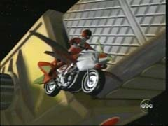 Cole Morphed As Red Wild Force Ranger