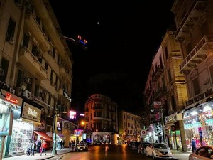 DARK rue ALEXANDRIA EGYPT