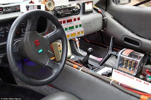 DeLorean Interior design