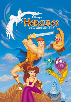 disney Hercules 20th Anniversary