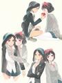 Jasmine and Snow White - disney-princess fan art