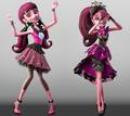 Draculaura - monster-high wallpaper
