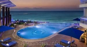 EVENING ALEXANDRIA EGYPT