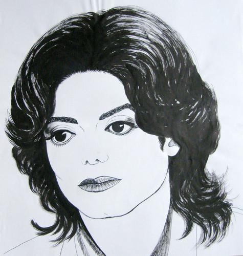 michael jackson wallpaper entitled Ebony Eyes