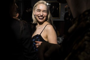 Emilia attends the W Magazine's Celebration of its 'Best Performances' پورٹ فولیو