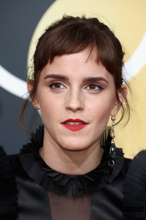 Emma at the 2018 Golden Globe Awards