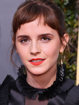 Emma at the 2018 Golden Globes