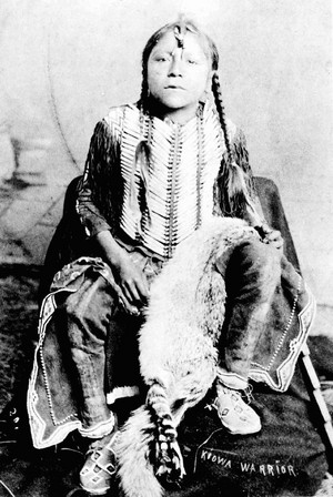 Enoch Smoky (Kiowa Warrior) によって William Stinson Soule