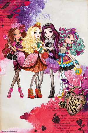 Ever After High Poster