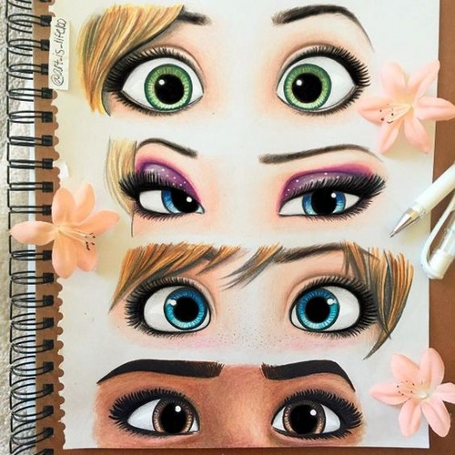 The 디즈니 Revival Era 바탕화면 called Eyes