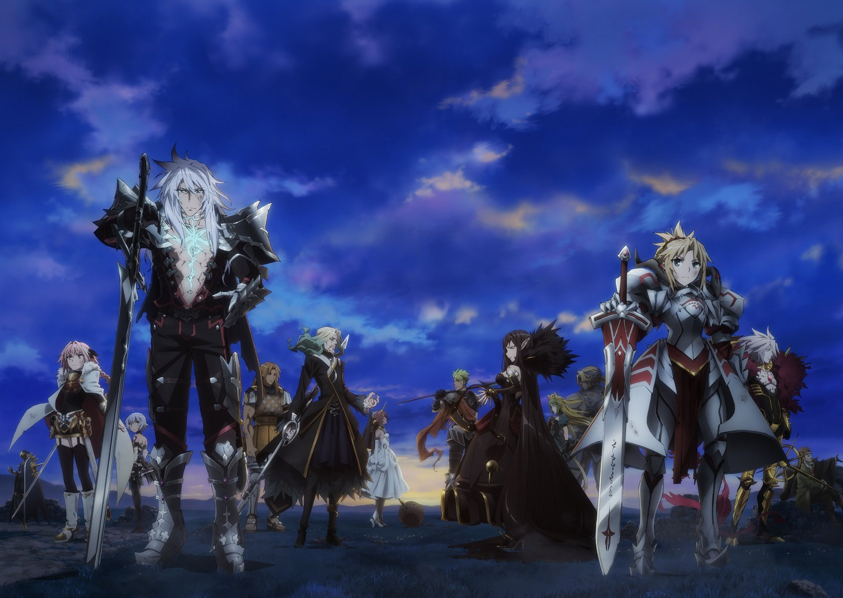 [7 Animes Indispensáveis] - Netflix Fate-Apocrypha-fate-series-40902990-1690-1200