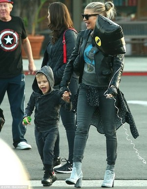 Fergie and her son :)