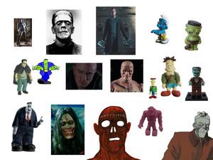 Frankenstein fond d'écran