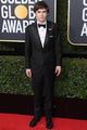 Freddie Highmore at 2017 Golden Globes Awards - freddie-highmore photo