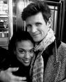 Freema and Matt - doctor-who photo