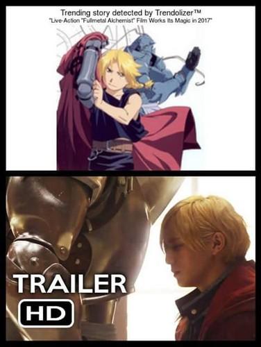 Anime wallpaper entitled Fullmetal Alchemist Live Action Movie