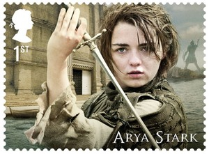 Game of Thrones Stamps - Arya Stark