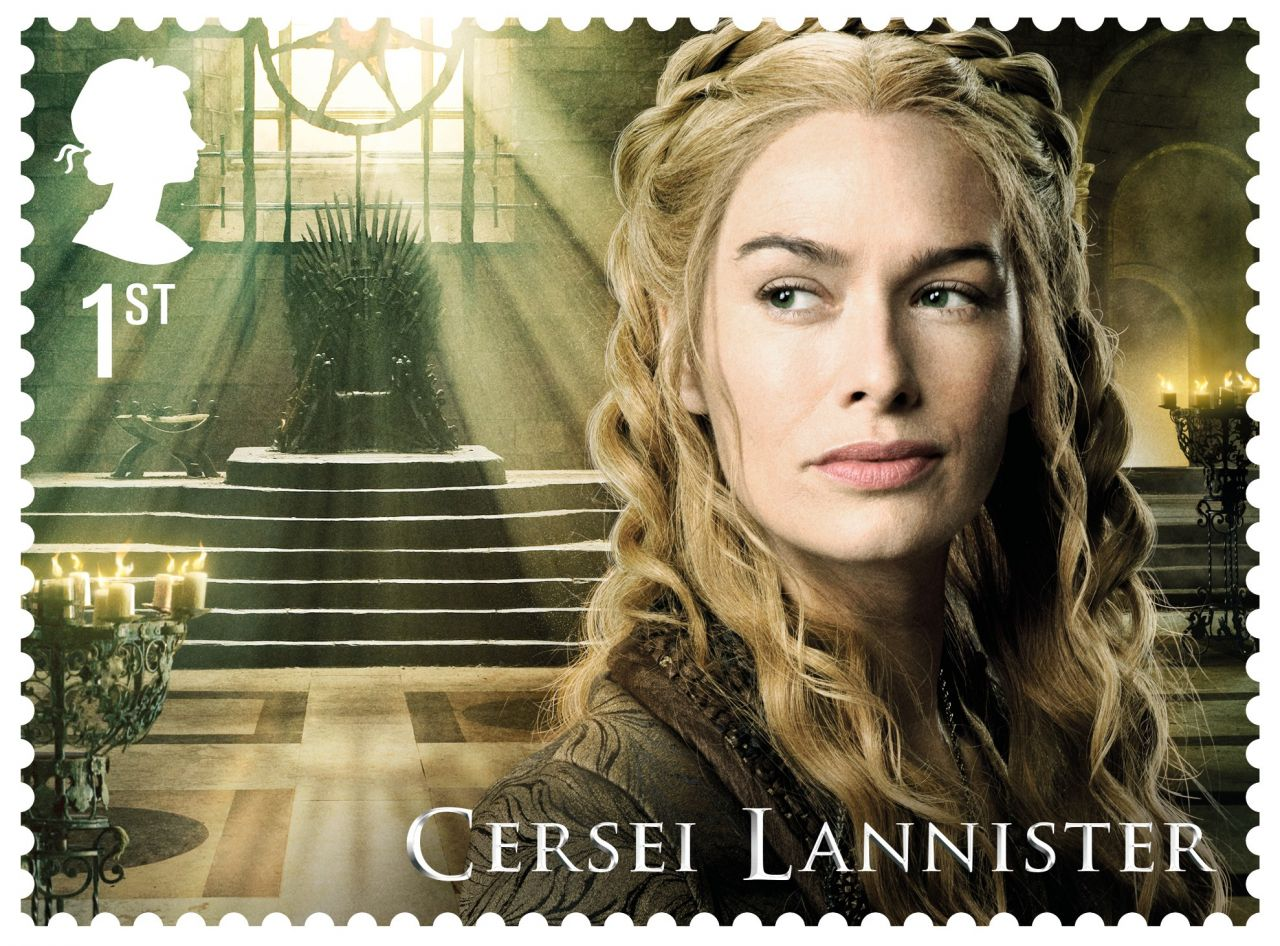 Game of Thrones Stamps - Cersei Lannister