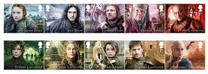Game of Thrones Stamps - Character Collection