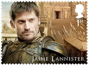 Game of Thrones Stamps - Jaime Lannister