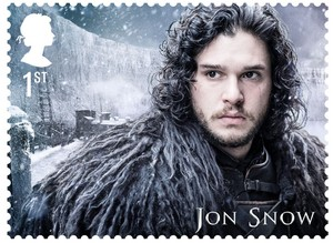 Game of Thrones Stamps - Jon Snow