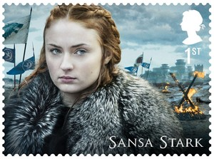 Game of Thrones Stamps - Sansa Stark