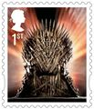 Game of Thrones Stamps - The Iron Throne - game-of-thrones photo