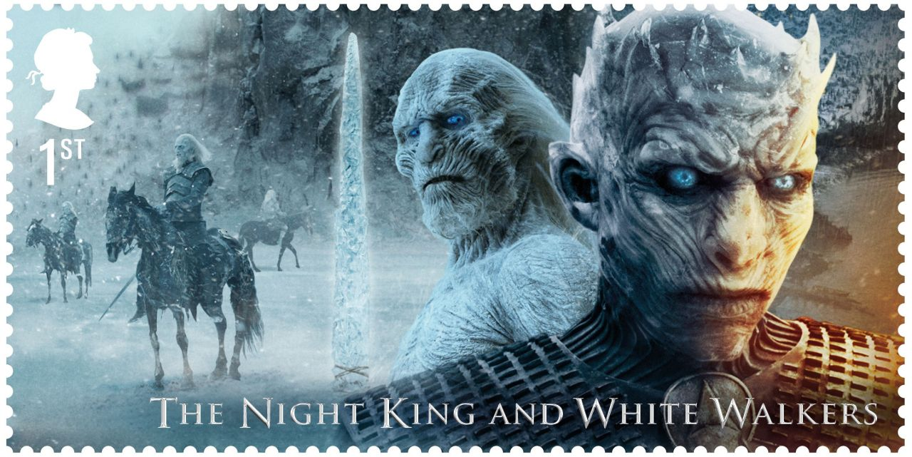 Game of Thrones Stamps - The Night King and White Walkers