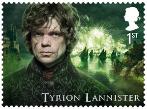 Game of Thrones Stamps - Tyrion Lannister