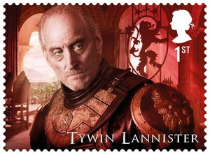 Game of Thrones Stamps - Tywin Lannister