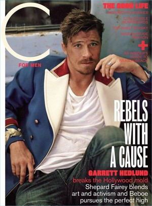 Garrett Hedlund - C for Men Cover - 2017
