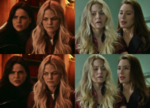 Gay panic level: Emma Swan