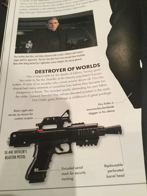 General Hux - TLJ Visual Dictionary