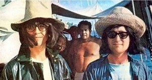George and John in disguise