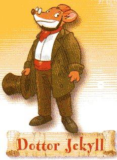 Geronimo travestito da Dr. Jekyll