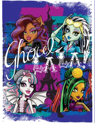 Monster High fond d'écran entitled Ghoul La La!