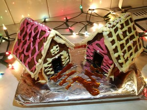 Gingerbread houses I made <3