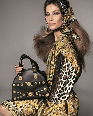 Gisele stars in the new Versace campaign