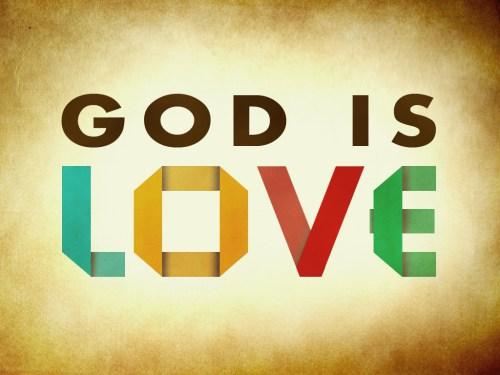 God-The creator kertas dinding titled God Is Cinta